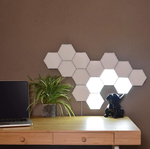 Hexagonal modular lighting system