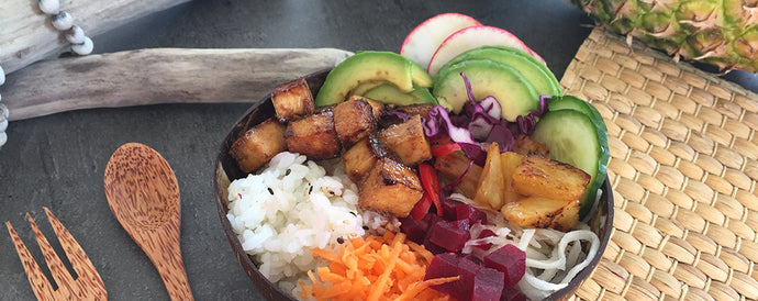 Vegan Poke bowl (Hawaii)
