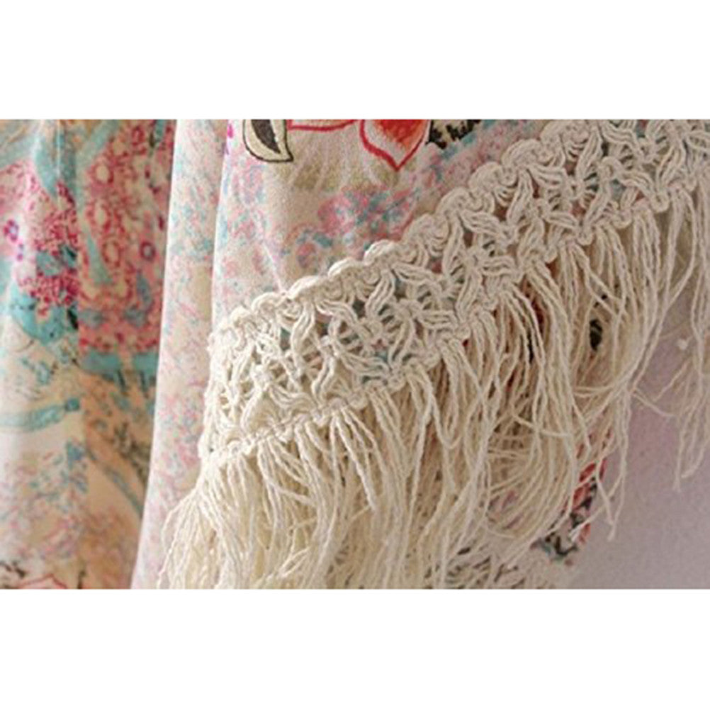 Cardigan Shawl Cape Sweater Coat