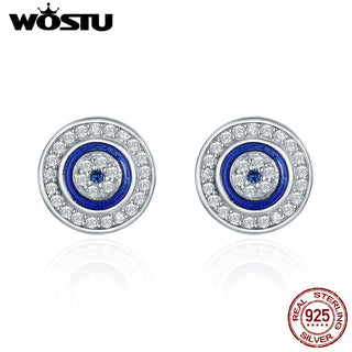 Round Stud Earrings for Women