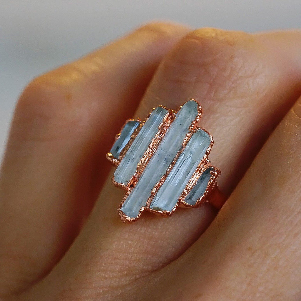 Cathedral Ring - Aquamarine