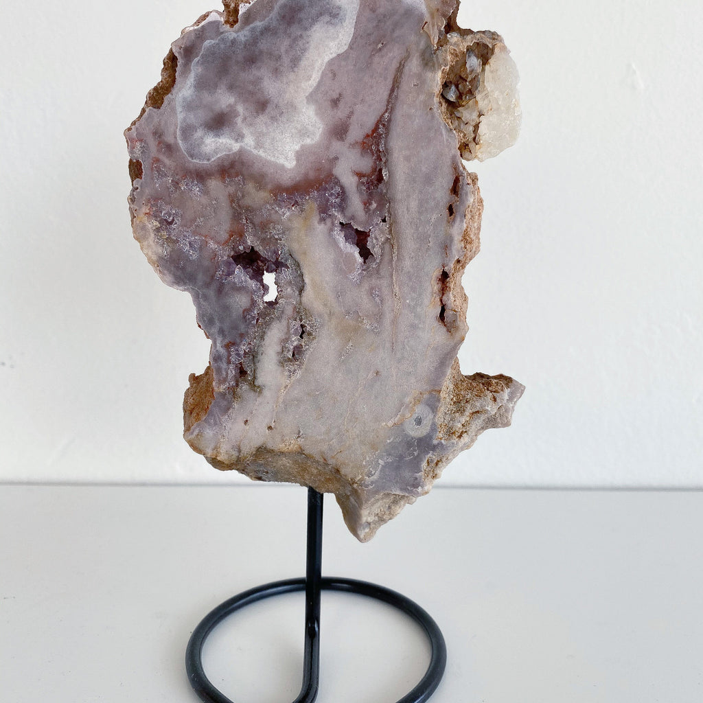 Rose Amethyst w/ Stand - #2