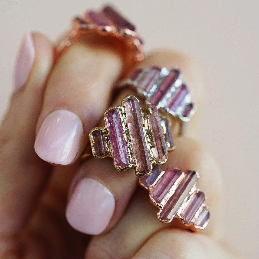 Cathedral Ring - Pink Tourmaline