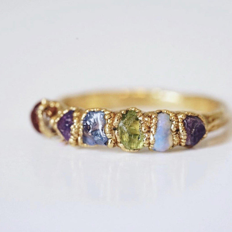 Custom Birthstone/Mama's Ring