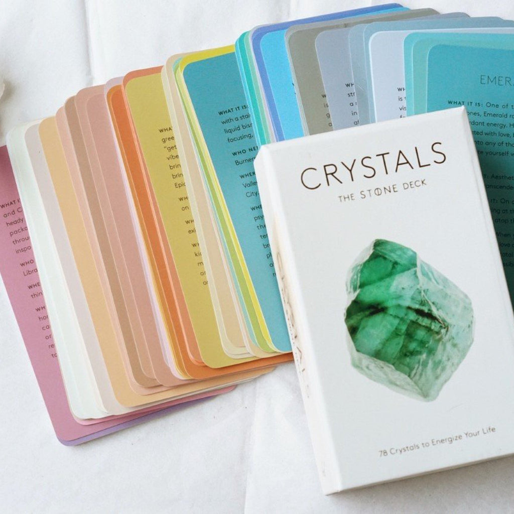 Crystal Card Deck