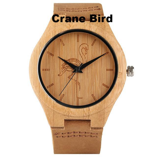 Crane Bird Quartz Watch