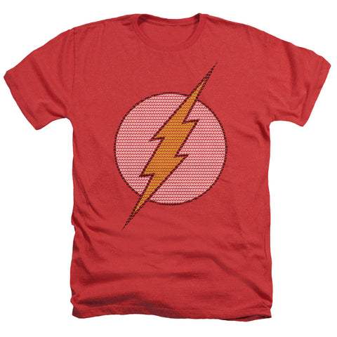 Dc - Flash Little Logos Adult Heather