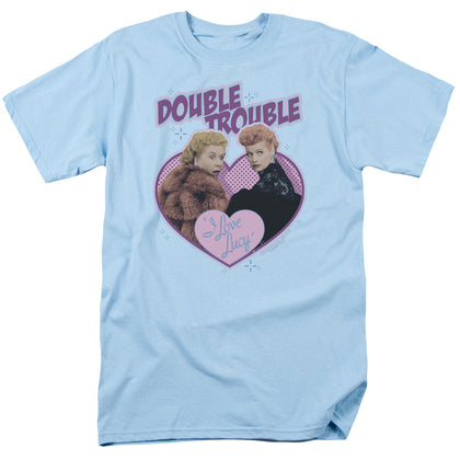 I Love Lucy - Double Trouble Short Sleeve Adult 18/1
