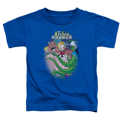 Archie Babies - Babies In Space Short Sleeve Toddler Tee