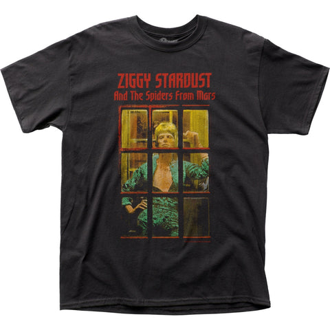 David Bowie Ziggy Phonebooth T-Shirt