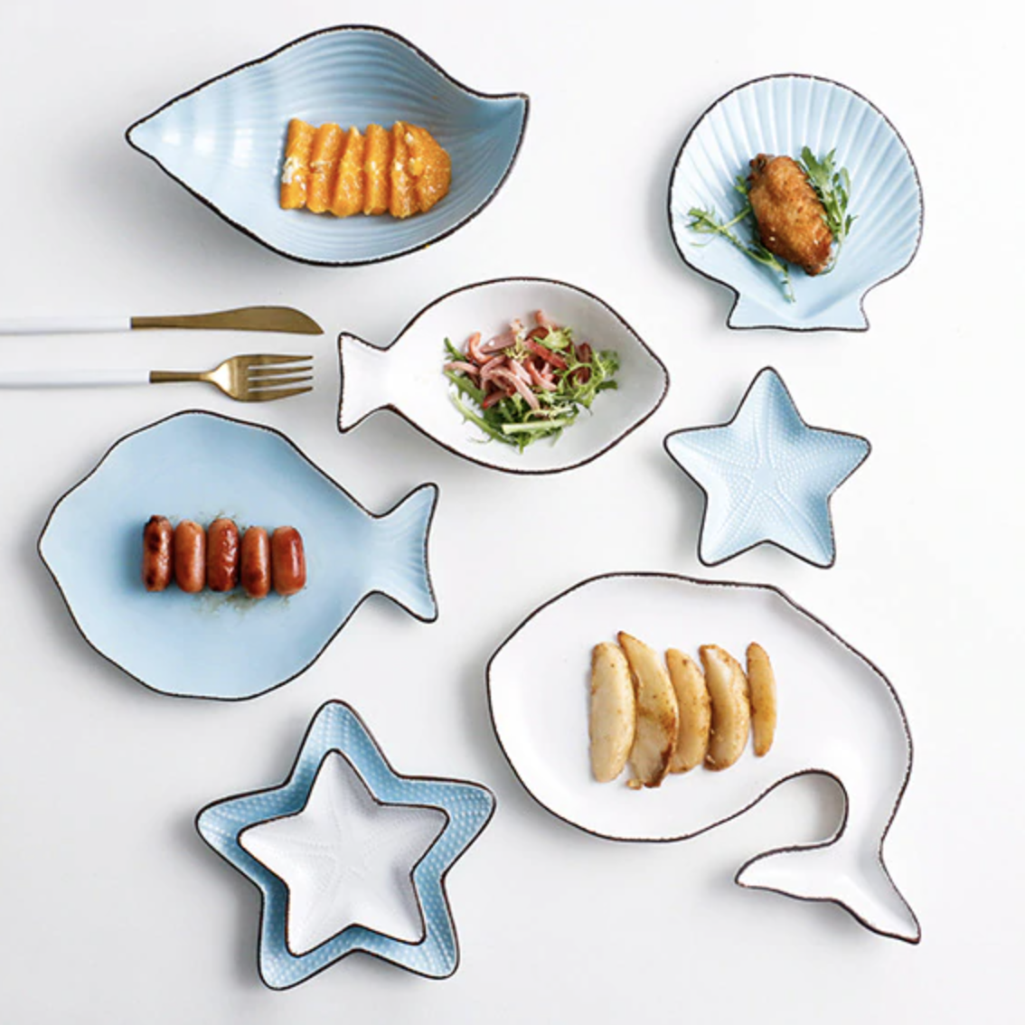 Oceanic Diningware Collection