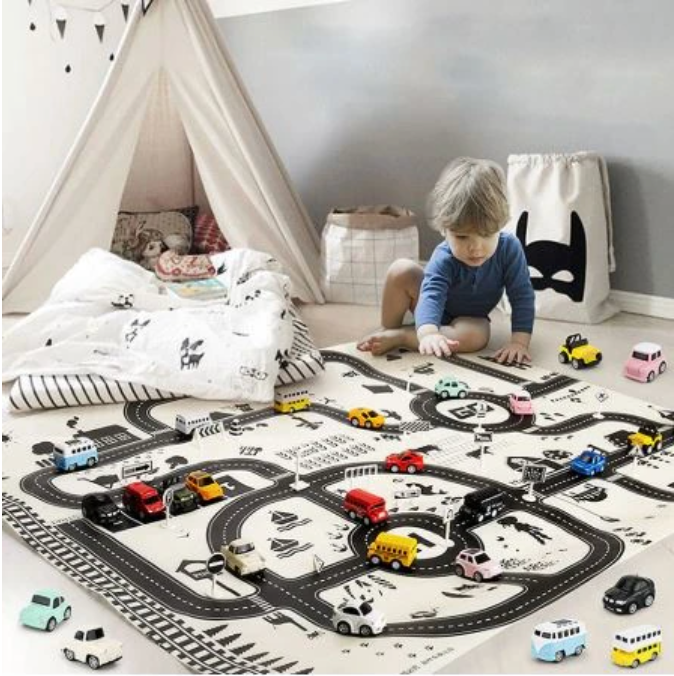Kid's Highway Play Mats