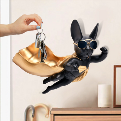 Hanging Superdog Key Holder