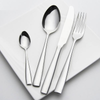 24 Piece Silver Cutlery Set - The Decor House