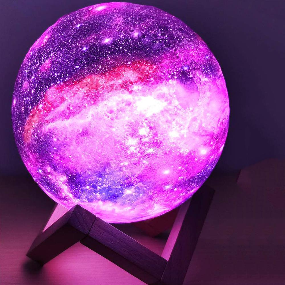 Galaxy Rechargeable Moon Lamp