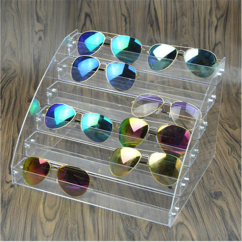 Clear Sunglasses Display Stand