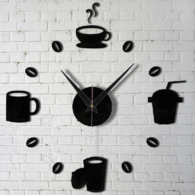 DIY Coffee Lover Wall Clock