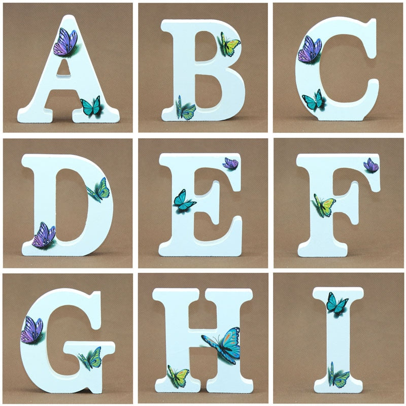 Alphabet Letters - Butterfly Edition