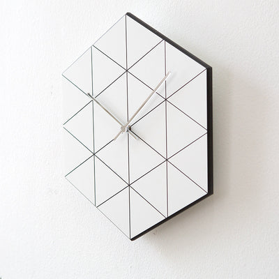 Geometrical Hexagon Wall Clock