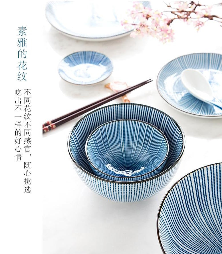 42 Piece Japanese Dinnerware Set