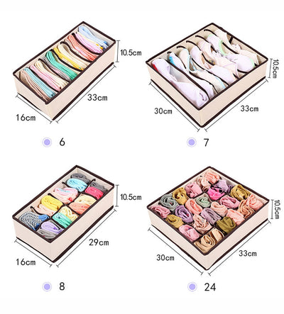Bedroom Storage Organisers (Bras, Underwear and more)