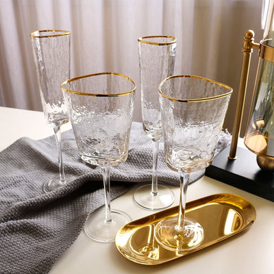 Golden Edge Glasses