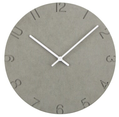 Concrete Style Wall Clocks