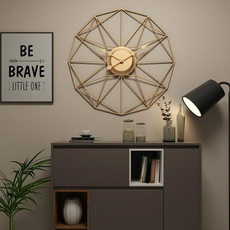 Plated Wall Clock