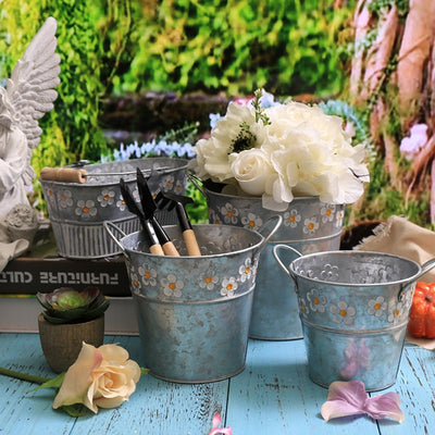 Vintage-inspired Planters