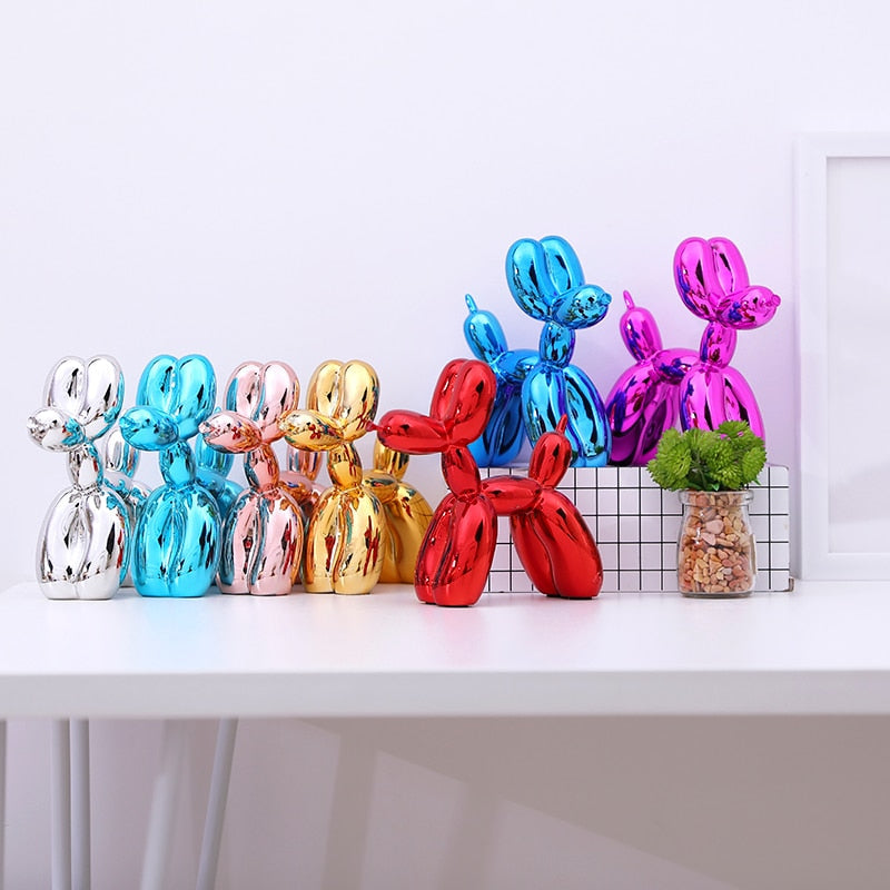 Balloon Dog - Metallic Colour Edition