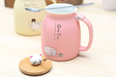 Kitty Ceramic Mug