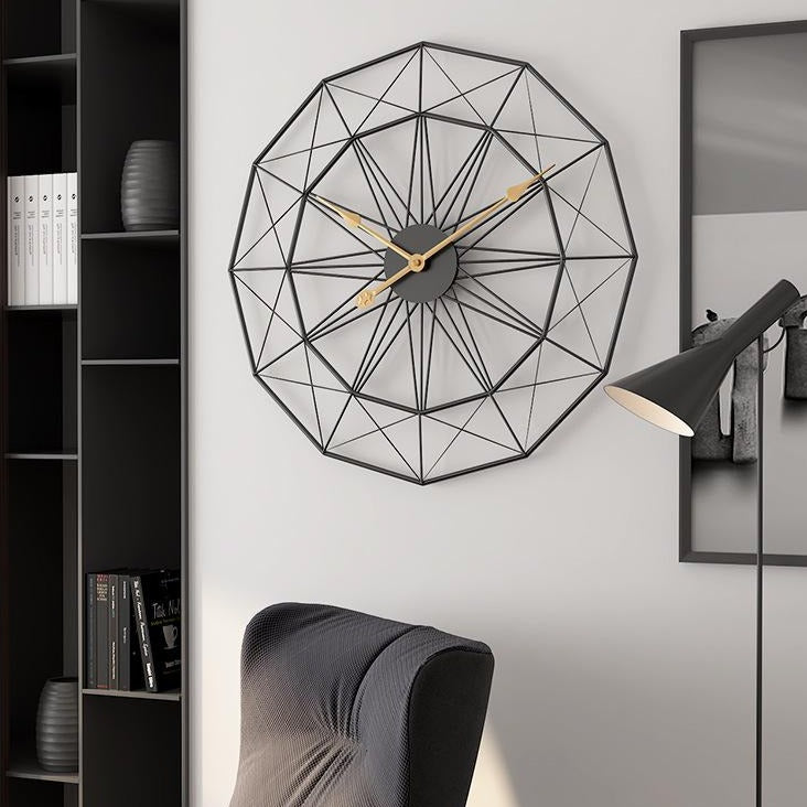Vitruvian Wall Clock