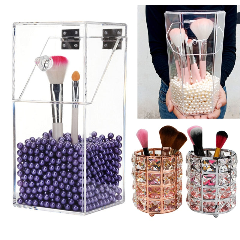 Makeup Brush Storage Box
