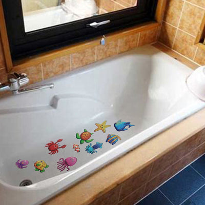 10 Piece Bath Stickers