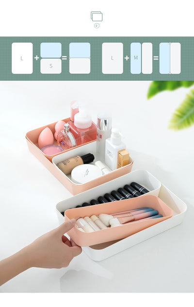 Coloured Drawer Organisers
