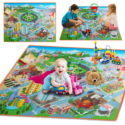 Kid's Town Square Play Mat