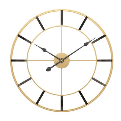 Golden European Wall Clock