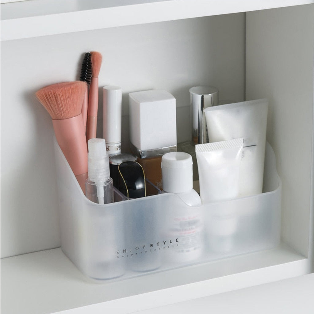 Frosted Beauty Organiser