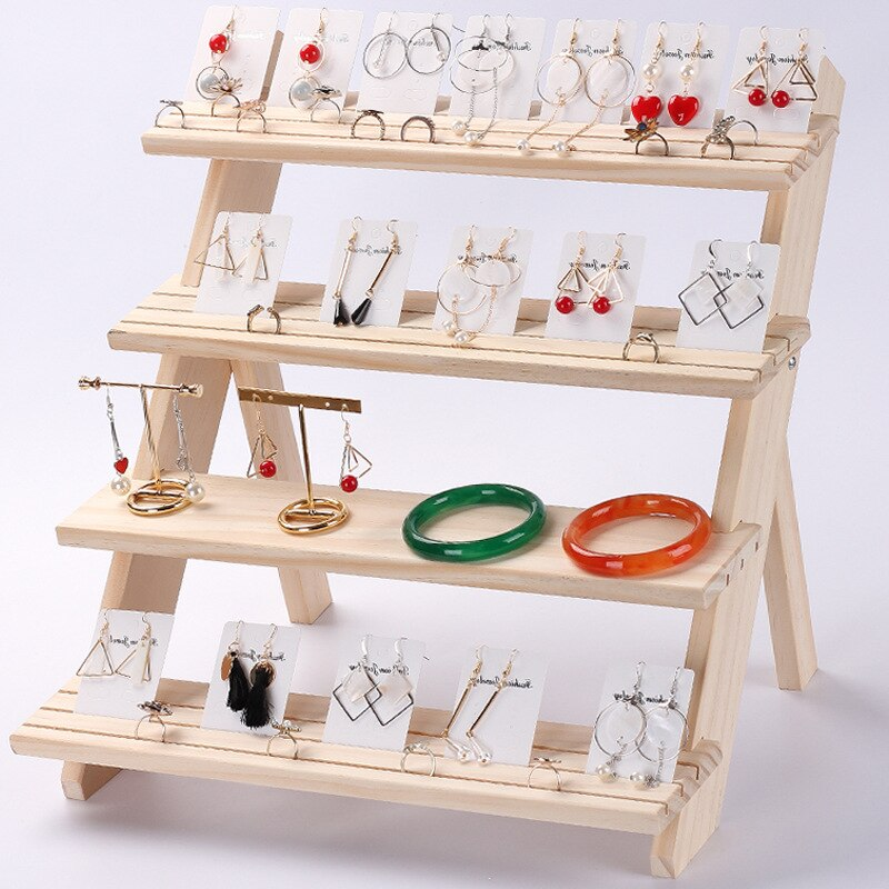 Wooden Jewellery Displays