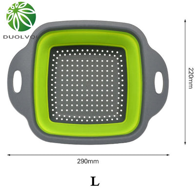 Silicone Foldable Strainer