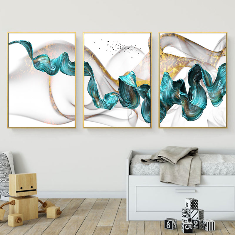 Art Series - The Teal Ribbon