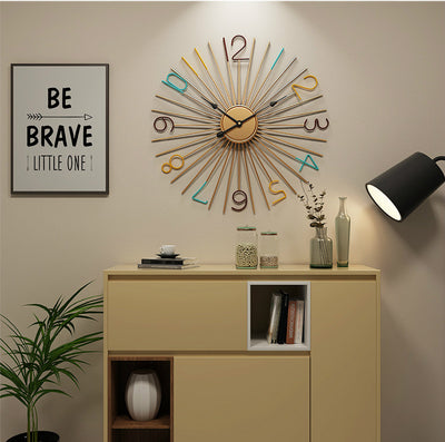 Spiked Wall Clock