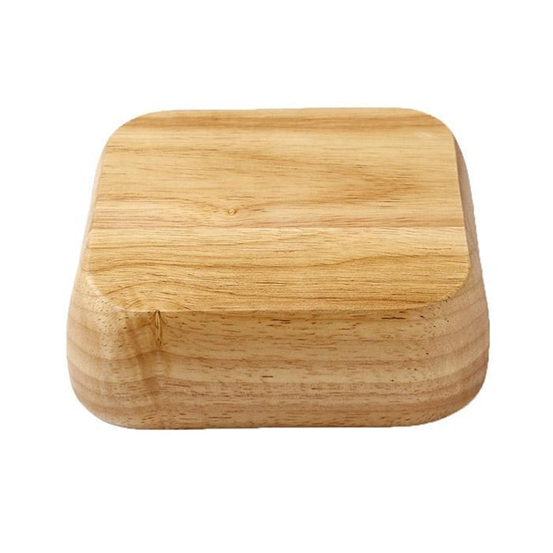 Wooden Square Bowls