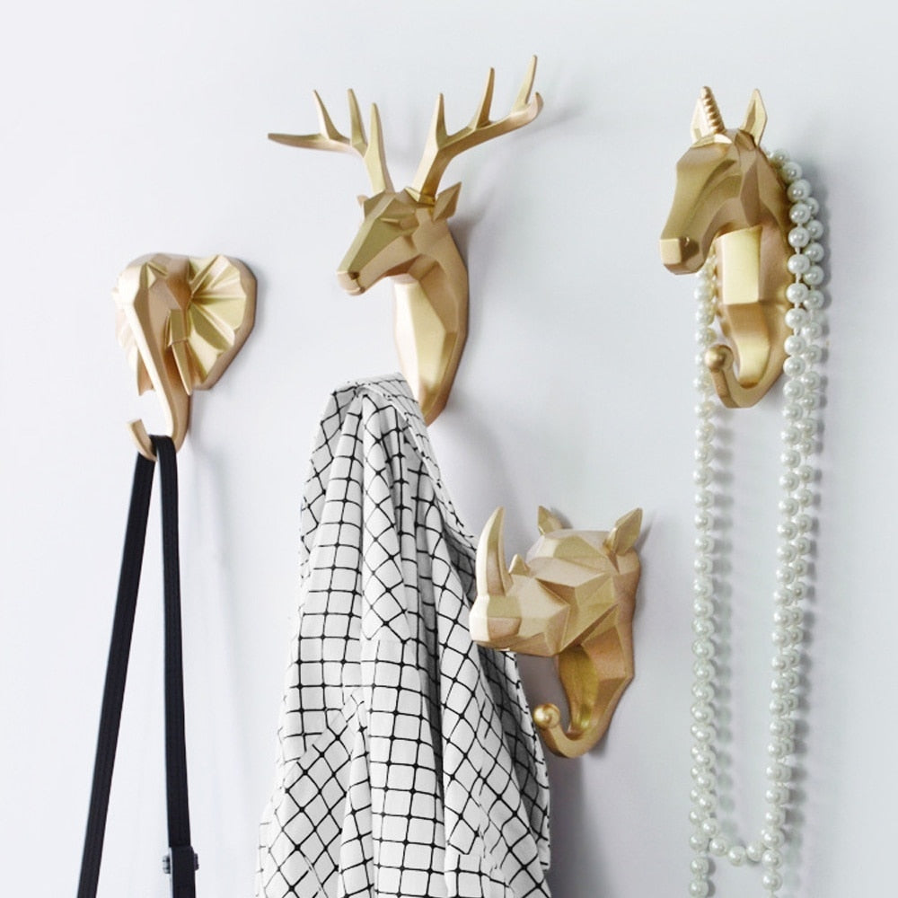 Ornamental Animal Hooks