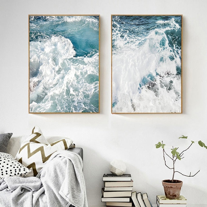 Art Series - Ocean Blue