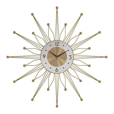 Golden Crown Wall Clock