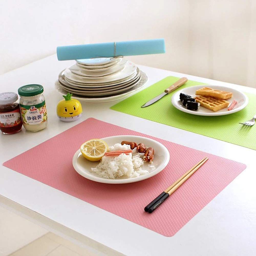 Easy Clean Refrigerator and Table Mats