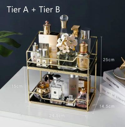 Golden Frame Beauty Organiser