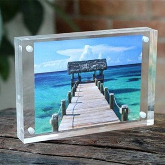 Glass Photo Blocks