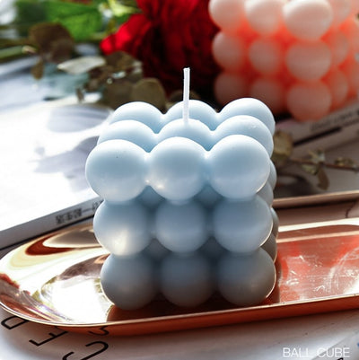 Rounded Cube Candles